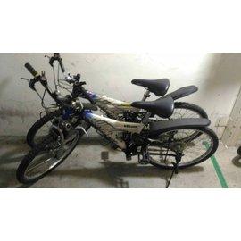 24吋 GIANT捷安特 yd490 shimano 18段 變速 前後雙避震 腳踏車 青