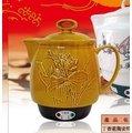 丁香花 陶瓷煎藥壺 (啞巴媳婦) BS-04051