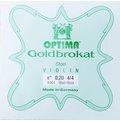 德國Optima(Lenzner) Goldbrokat小提琴E弦(0.28,Ball End);可與Dominant來做搭配使用