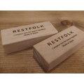 日本RESTFOLK天然樟木芳香條 - 24入禮盒組