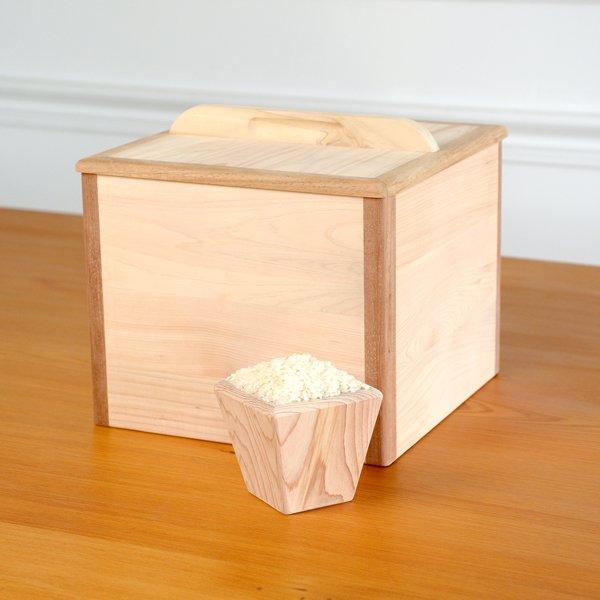 芬多森林,台灣檜木小米桶5kg,無上漆實木餐具
