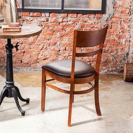 《AccessCo》新巴克 實木軟墊咖啡椅