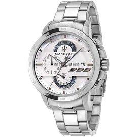 瑪莎拉蒂手錶 MASERATI INGEGNO 男錶 精鋼錶 R8873619004 保證正品 信譽保證