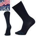 【Smartwool 美國】Anchor 錨線型中長襪 日常羊毛中筒襪 美麗諾羊毛襪 男款 深海軍藍 (SW0SW960108)