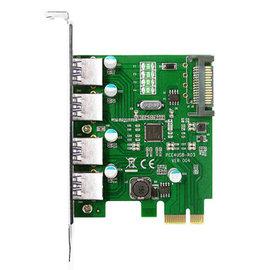 伽利略 PTU304B PCI~E USB3.0 擴充卡 4~Port