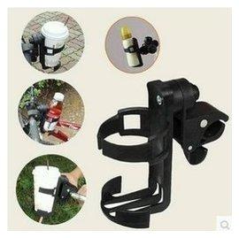 嬰兒 手推車 杯架 水壺 單車 傘車 水杯 奶瓶 置物 放置處 任何推車   快拆~先夾後轉緊鎖上