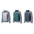 荒野 WILDLAND 男 彈性針織拼接羽絨外套 20D纖維細緻布料 700FP水鳥羽絨 保暖羽絨衣 0A62992
