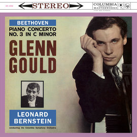 MS6096 Beethoven : Piano Concerto No.3  顧爾德Glenn Gould p Leonard Bernstein  Colu