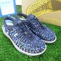 【iSport愛運動】KEEN UNEEK 護趾編織 涼鞋 1018700 男款  深藍迷彩