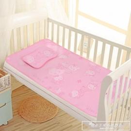 嬰兒涼席冰絲透氣柔軟新生兒寶寶床墊睡墊兒童幼兒園夏天午睡涼席igo『~~~免運』I1