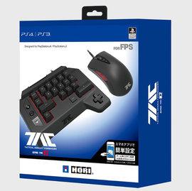 HORI K2~ PS4 PS3 PC 的戰術突擊指揮官鍵盤類型K2 支持手機APP藍芽配