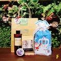 限量香氛耶誕福袋( 檜木露250mlx1+香氛足浴包x1+精油護膚蠟燭15g)