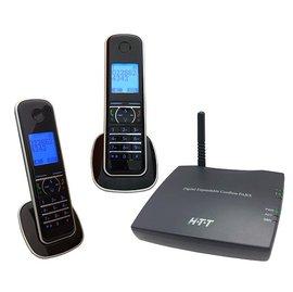 【民權橋電子】HTT H.T.T DECT雙外線數位行動總機 UT-200D (附數位無線話機) 兩外線