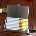 煙盒usb充電打火機金屬超薄防風I1