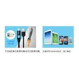 【迪特軍3C】Apple 8Pin /  Mirco USB 二合一高速傳輸充電線-1M (IP-L1-2IN1)