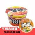韓國不倒翁泡菜風味碗麵105g【愛買】