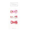 美國 Ribbies Clippies 雙色緞帶3入組【Mila】