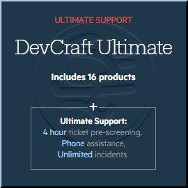 Progress DevCraft Ultimate Developer License 商業單機下載版(含一年M.A., Server-Side : ASP.NET MVC and .NET Cor...