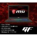 【MSI 微星】GF72 8RE-060TW 17吋電競筆電(i7-8750H/8GB/1T+128G SSD/GTX1060-6G/Win10)
