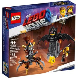 樂高積木 LEGO 70836 Battle-Ready Batman and MetalBeard