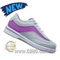 【空運預購】Brunswick Intrigue (Women's) ☆詭計☆單腳可換底保齡球鞋-灰紫(歡迎訂購~)
