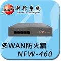 新軟系統 NUSOFT NFW-460 多功能防火牆