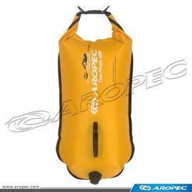 【【蘋果戶外】】AROPEC 亞洛沛 RF-DJ02-28L 黃 雙氣囊游泳浮球(可當作防水袋用)