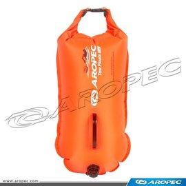 【【蘋果戶外】】AROPEC RF-DJ02-28L 桔 雙氣囊游泳浮球(可當作防水袋用)