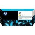 C4823A - HP 80 黃色列印頭+列印頭清潔組 - 請先確認庫存再下單