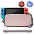Tomtoc 玩家首選2代 ,粉紅 適用於Nintendo Switch|收納包|保護套|保護殼|硬殼包|