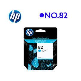 HP NO82 C4911A 原廠藍色墨水匣 69ml