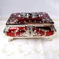 錫合金玫瑰琺瑯漆珠寶盒-A款