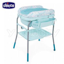 Chicco Cuddle & Bubble洗澡尿布台 / 浴盆.尿布桌.尿布檯 -泡泡粉綠