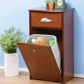 《閱讀歐洲》木製復古垃圾整理櫃