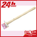 【24h快速到貨】《寵物鳥世界》日本 SANKO 防止足部病變健康棲木(M) 24cm #884 原木