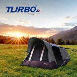 ~ Turbo Tent ~Tourist 270 單件式ㄧ房一廳六人帳 速搭帳 版  帳篷 家庭帳