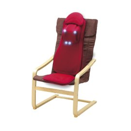 【DOCTORAIR】頂級3D按摩紓壓椅墊組 (含專屬舒壓靠椅) MS002+RC001