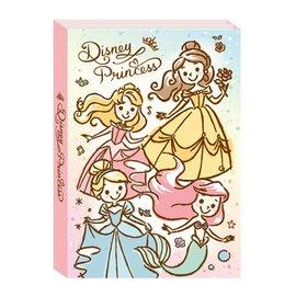 迪士尼多摺便條本-公主系列 DPCI-M505B 四折便條紙