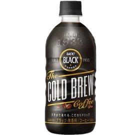 UCC BLACK冷萃黑咖啡500mlx24