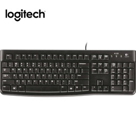 LOGITECH 羅技 有線鍵盤 K120
