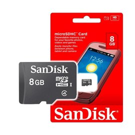 SANDISK 8G Class 4 C4 micro SD 記憶卡 手機擴充 (SDC4-8G)