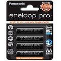 【 限量優惠促銷 】國際 eneloop PRO 2550mAh 黑鑽款 3號充電電池 (1卡/4顆)