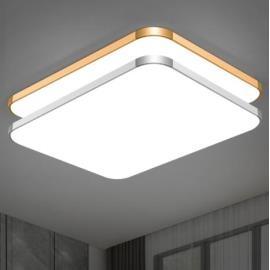 吸頂燈 LED長方形遙控大氣客廳燈具現代簡約臥室燈陽臺燈餐廳燈飾 ~免運I1
