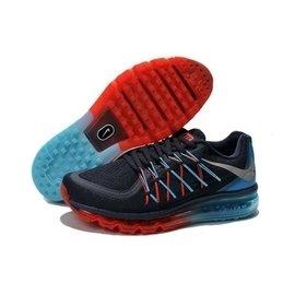 NIKE 耐吉 AIR MAX 201 全新配色 全氣墊慢跑鞋 輕量透氣 男款籃球鞋 藍橘