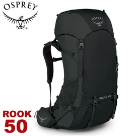 【OSPREY 美國 ROOK 50 男款 登山背包《黑》50L】雙肩背包/ 後背包/ 登山/ 健行/ 旅行