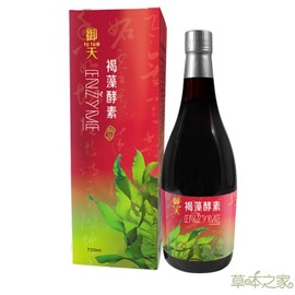草本之家-御天褐藻醣膠蔬果酵素液720mlX1瓶