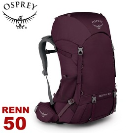 【OSPREY 美國 RENN 50 女款登山背包《極光紫》50L】雙肩背包/ 後背包/ 登山/ 健行/ 旅行