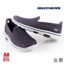 【SKECHERS】女鞋 GO WALK 5 休閒運動鞋 紫色 15906PUR【全方位運動】