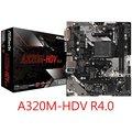 華擎 A320M-HDV R4.0 AM4 AMD主機板
