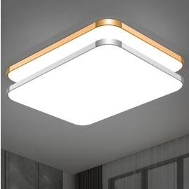 吸頂燈 LED長方形遙控大氣客廳燈具現代簡約臥室燈陽臺燈餐廳燈飾 - 克萊爾